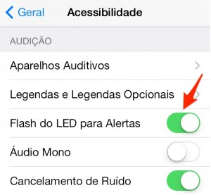 configurando o flash