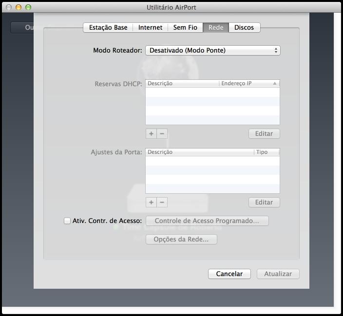 Como configurar o time capsule para funcionar com o live - Porta sql server ...