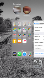 Seletor de aplicativos - App Switcher
